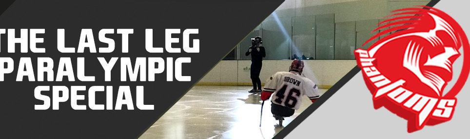 The Last Leg Meets Para Ice Hockey